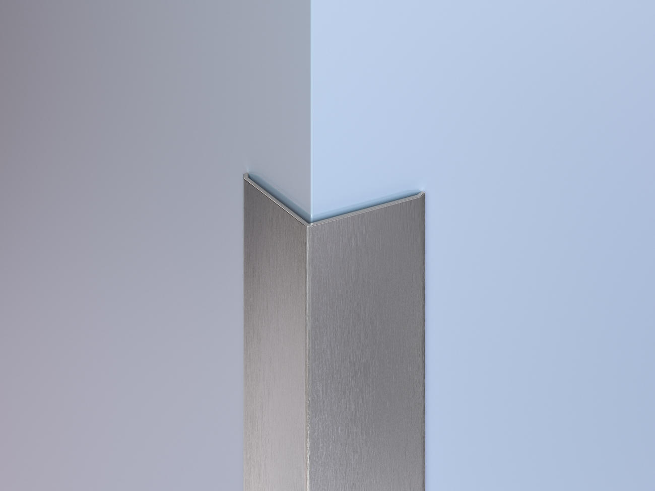 Surface-Mount Stainless Steel Corner Guards