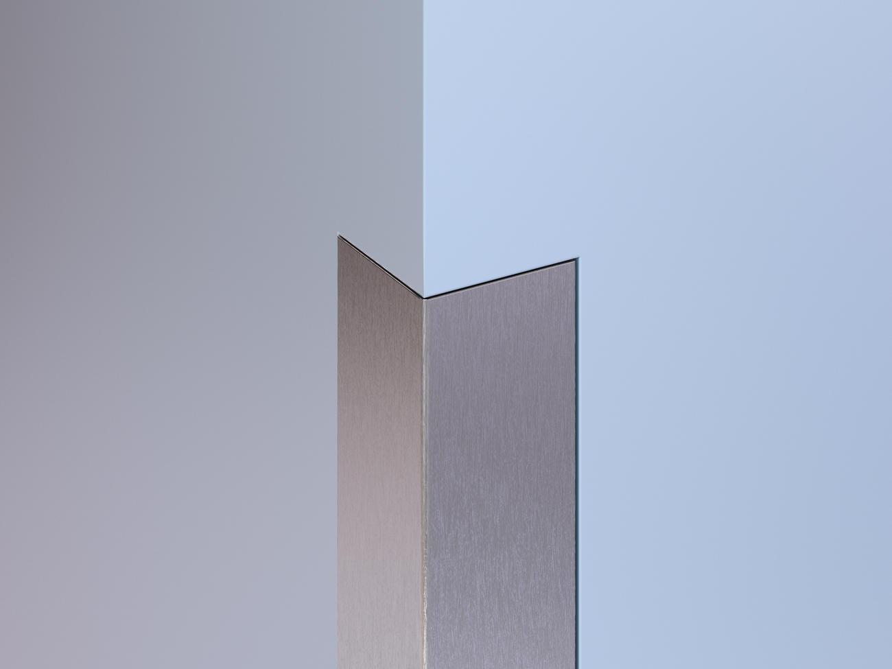 Flush-Mount Stainless Steel Corner Guards