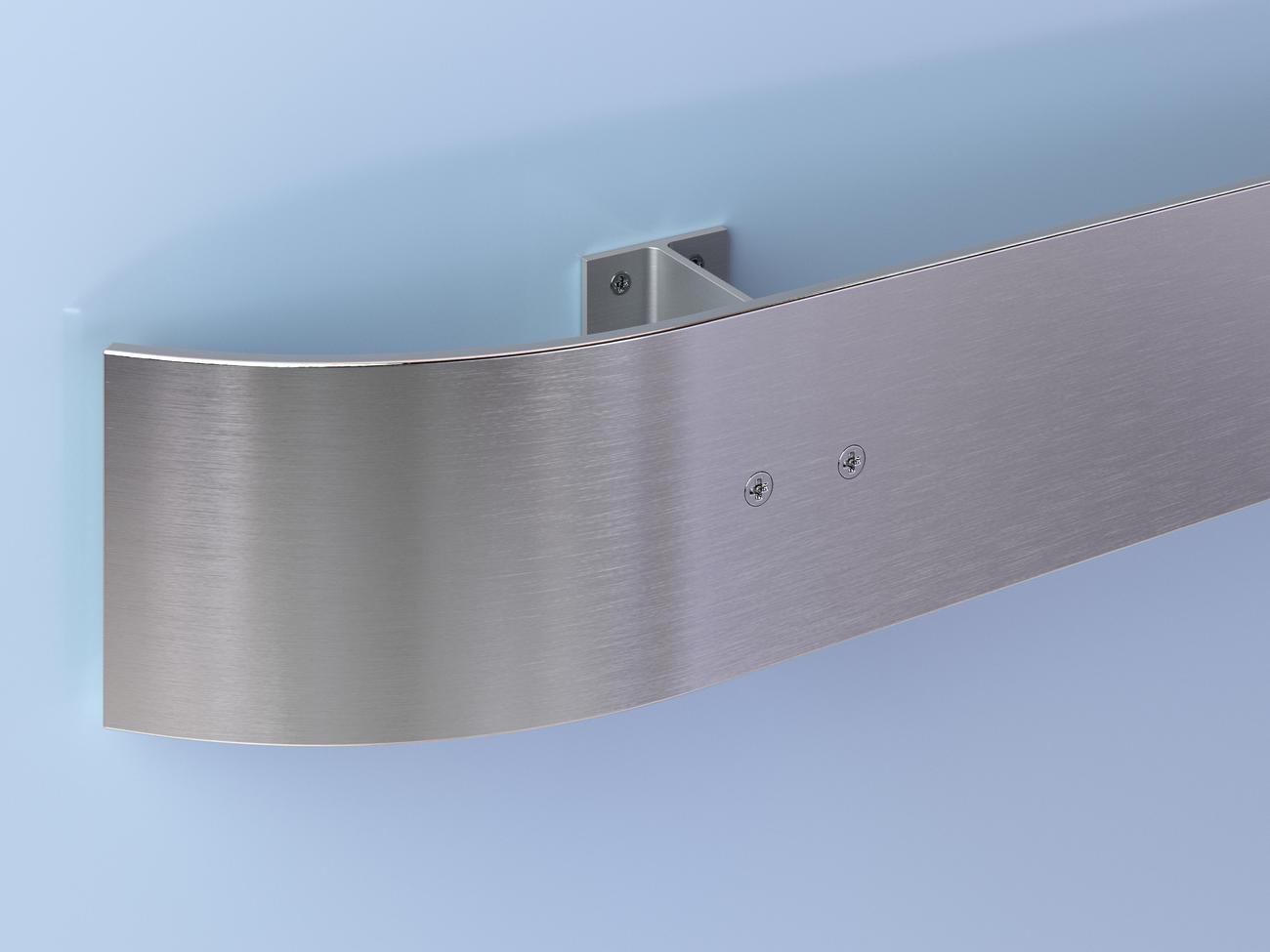 CRS-100 Stainless Steel Crash Rail