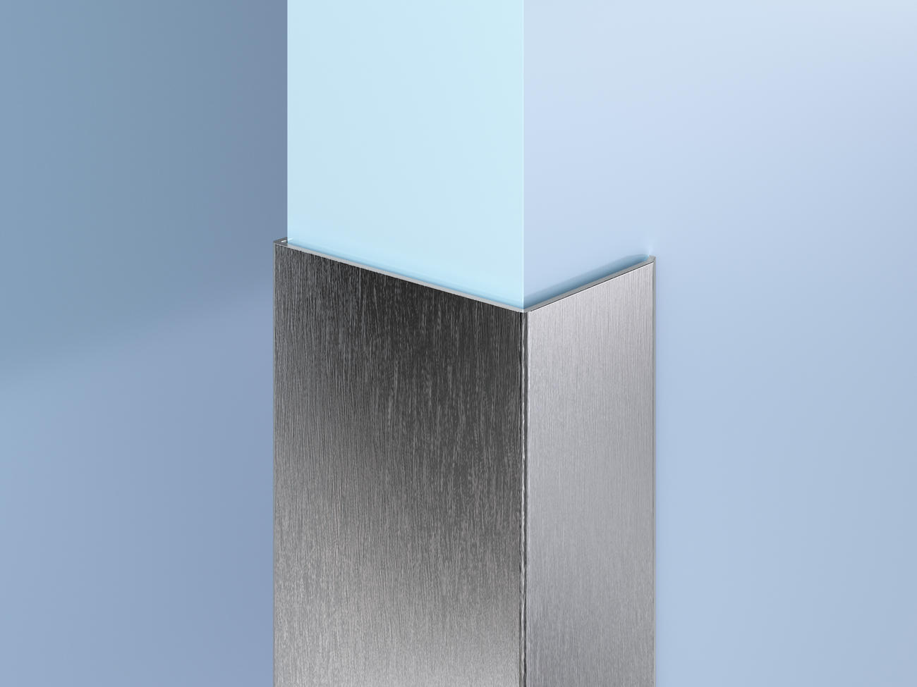 Surface-Mount SS End Wall Guards