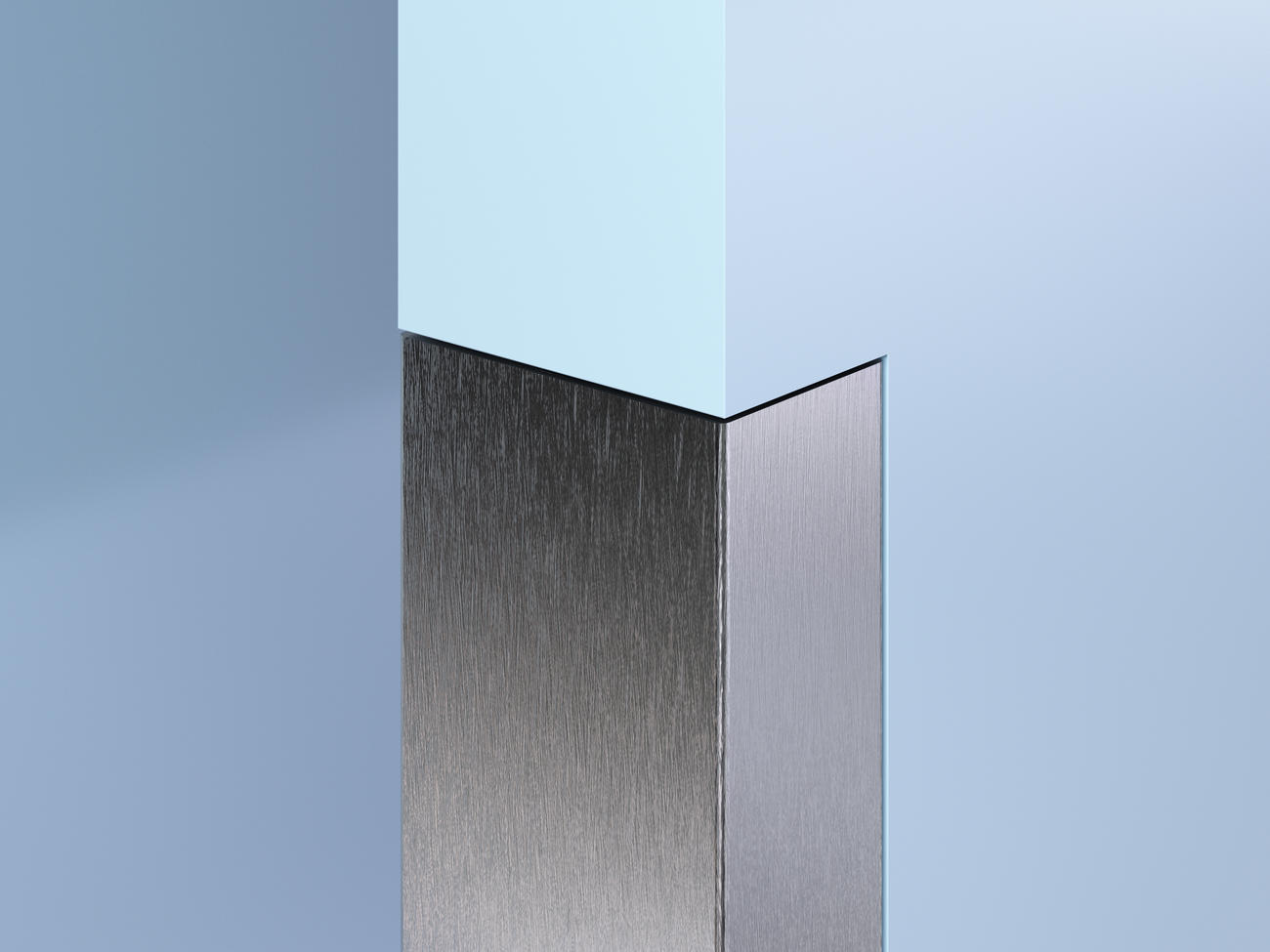 Flush-Mount SS End Wall Guards