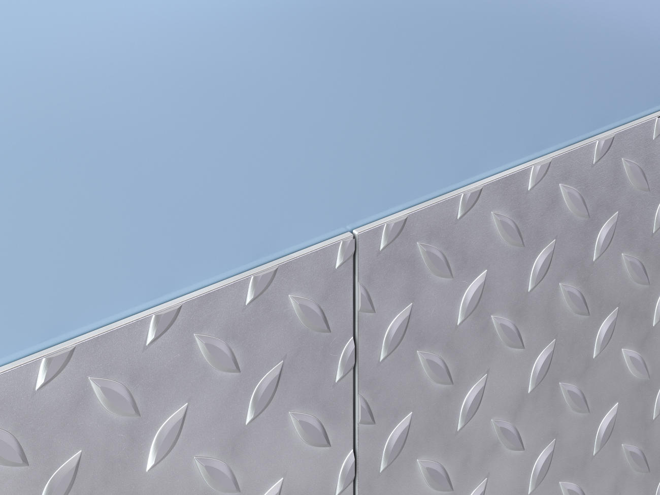 WPSD-12 Stainless Steel Diamond Plate Wall Covering