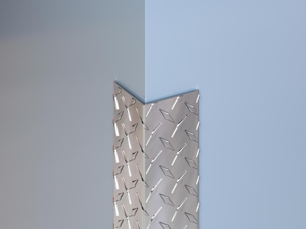 Aluminum Diamond Plate Corner Guards