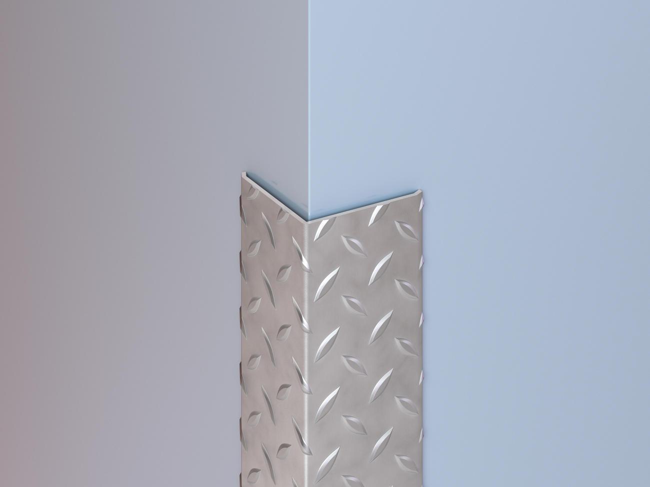 Stainless Steel Diamond Plate Corner Guards