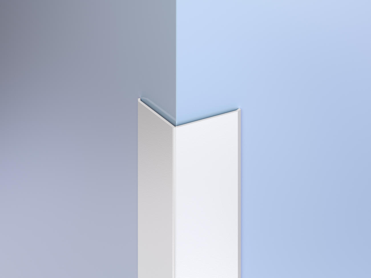 Surface-Mount Antimicrobial Corner Guards