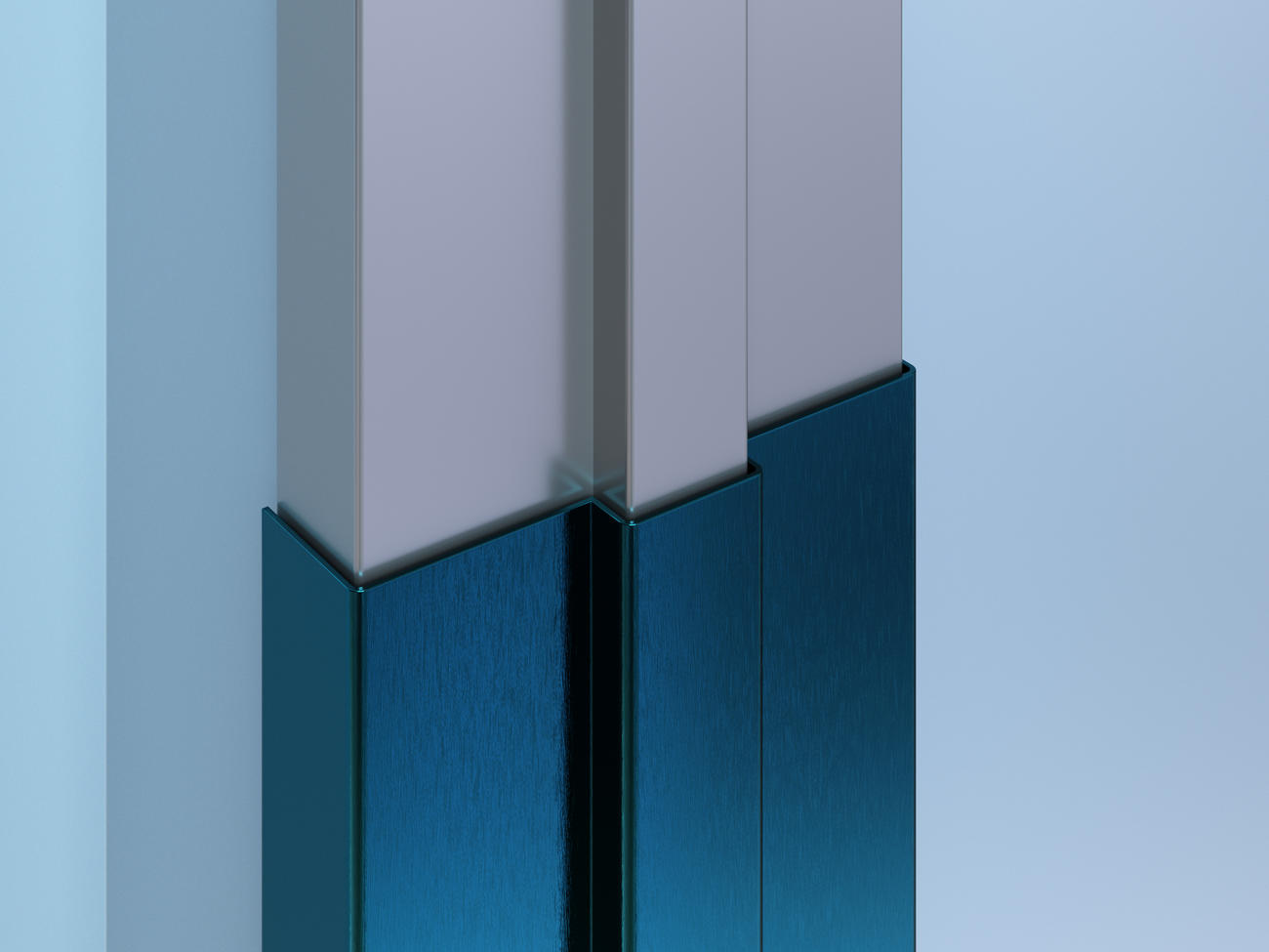 DFCC-16 Colored SS Door Frame Cover