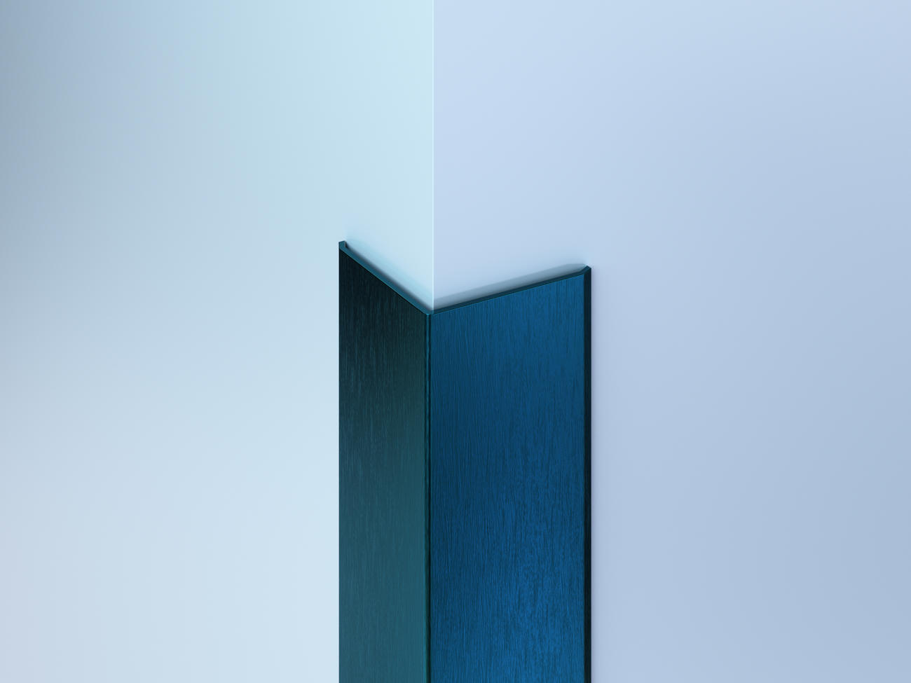 Surface-Mount Colored SS Corner Guards