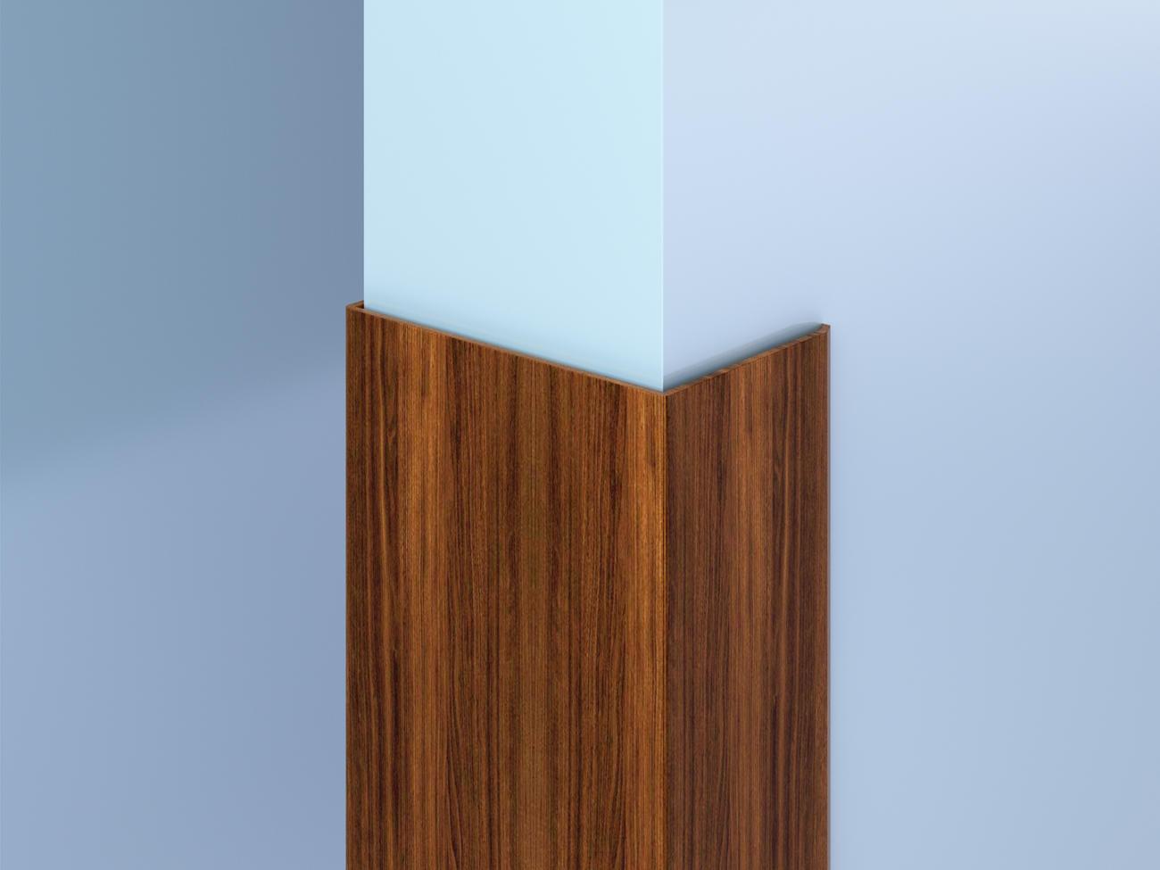 Surface-Mount Decorative Aluminum End Wall Guards