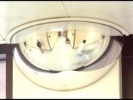 Half Dome Safety Mirror