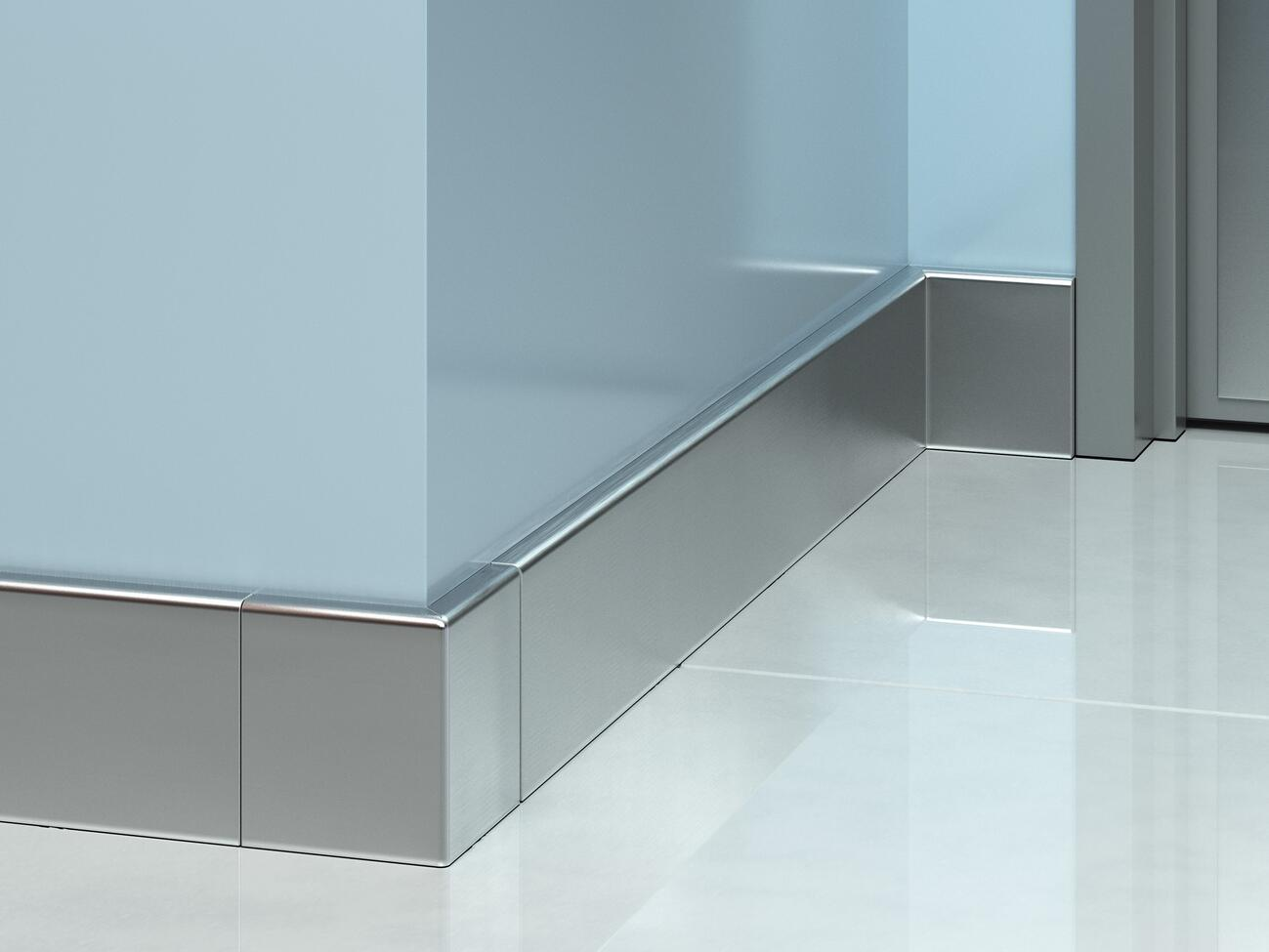BBS-4SS Stainless Steel Baseboard