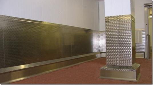 Wpsp 12 Patterned Stainless Steel Wall Protection By