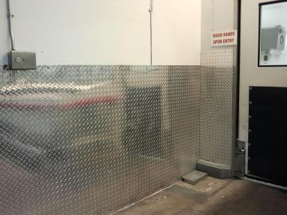 Wpad 12 Aluminum Diamond Plate Wall System By Protek