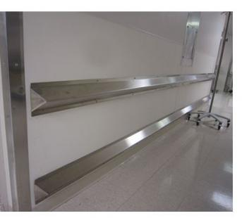 STAINLESS STEEL CRASH RAIL BCR-4SS