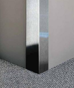 Cg 150 Stainless Steel Corner Guard By Protek Systems Inc