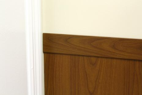 DECORATIVE WAINSCOTING WOOD GRAIN WPDA-60W