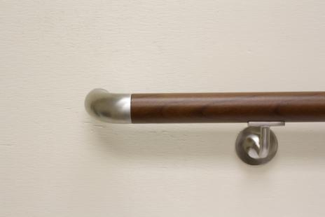 DECORATIVE HANDRAIL WOOD GRAIN HRD-100