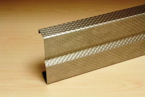 PATTERNED STAINLESS STEEL CRASH RAIL CRSP-1000