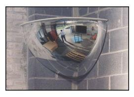 Quarter Dome Panoramic Mirror PV18-90