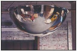 Hemisphere Mirrors