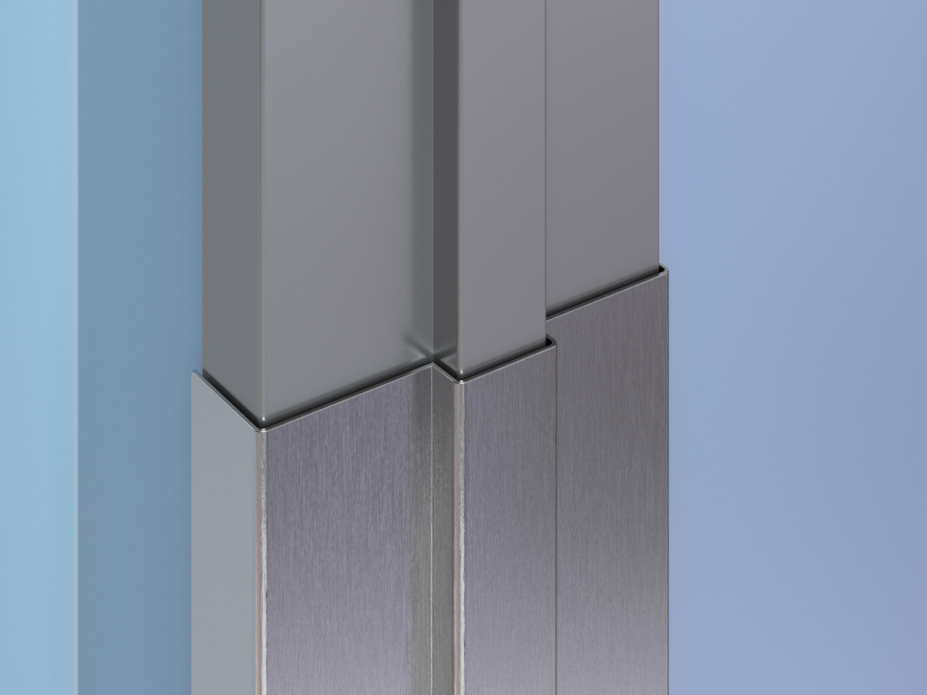 Stainless Steel Door and Frame Protection