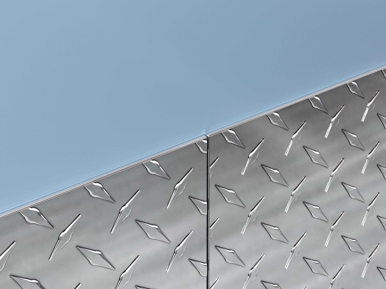 Alum. Diamond Plate Wall Coverings