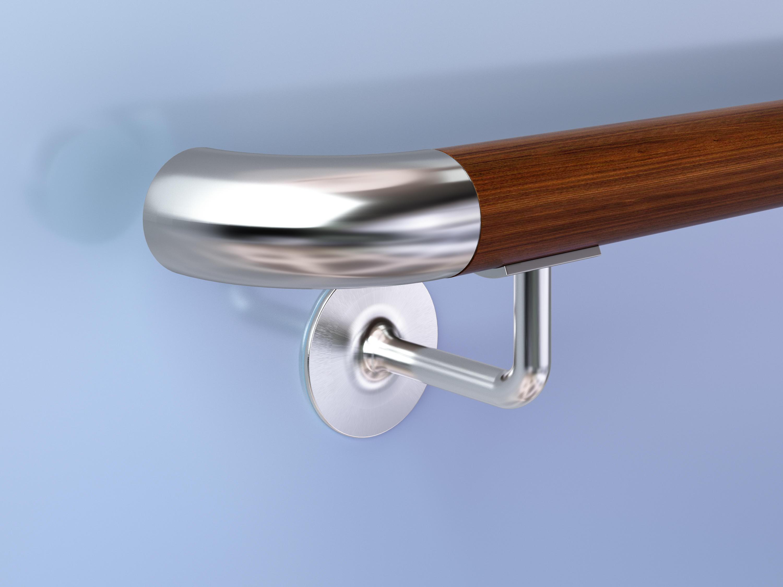 Wood Grain Handrail
