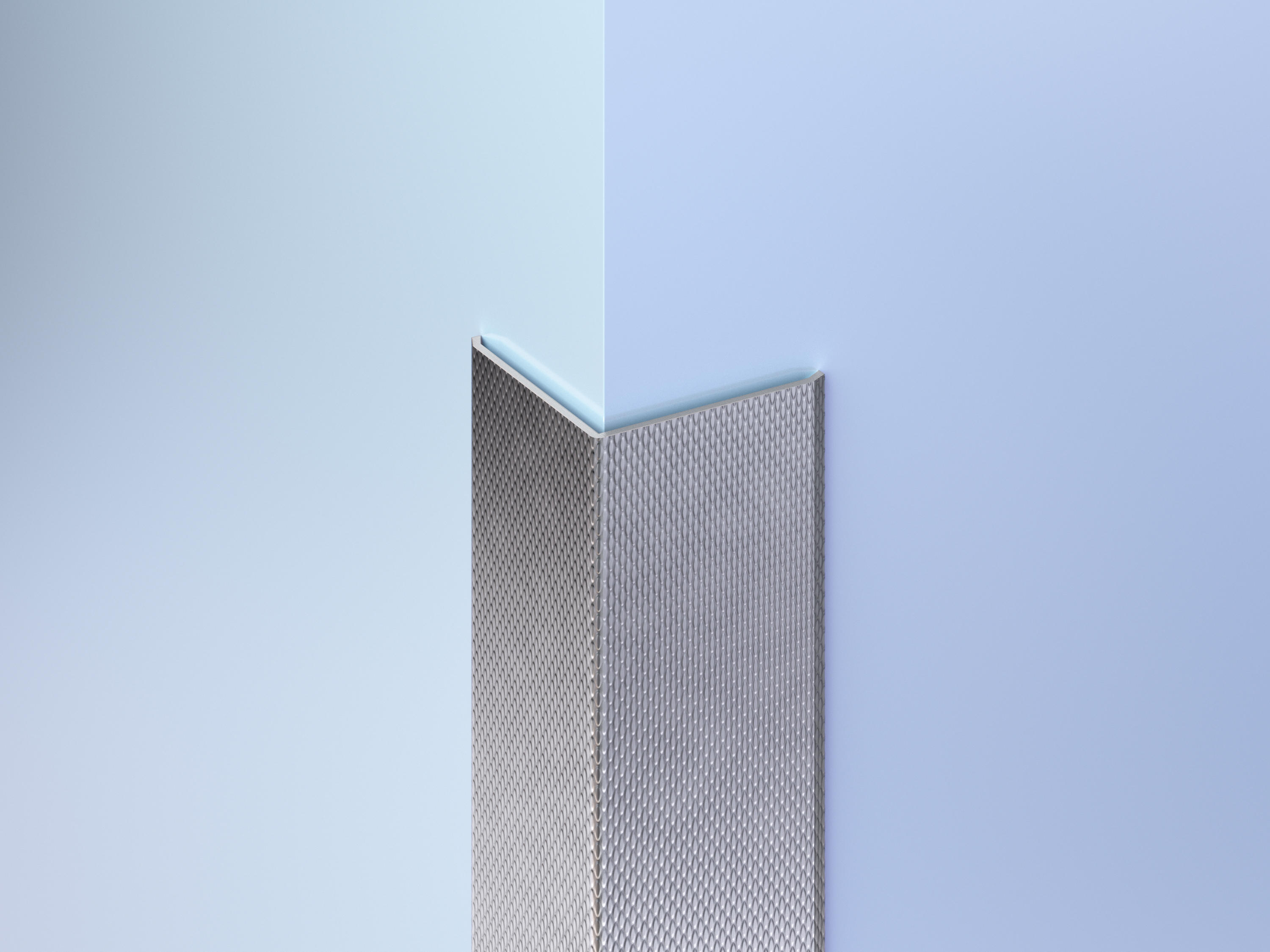 Patterned Stainless Steel Corner Guards