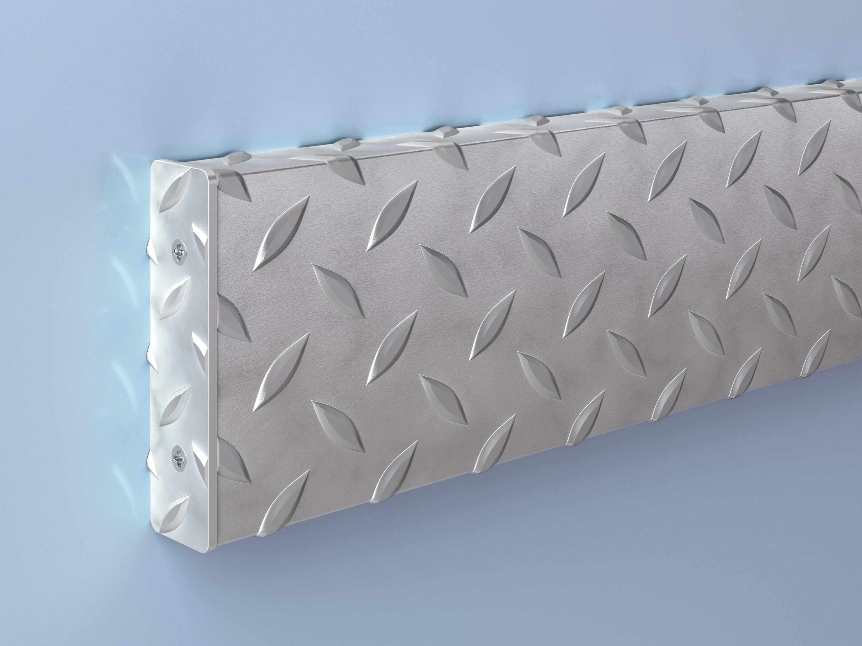 Stainless Steel Diamond Plate Crash Rail