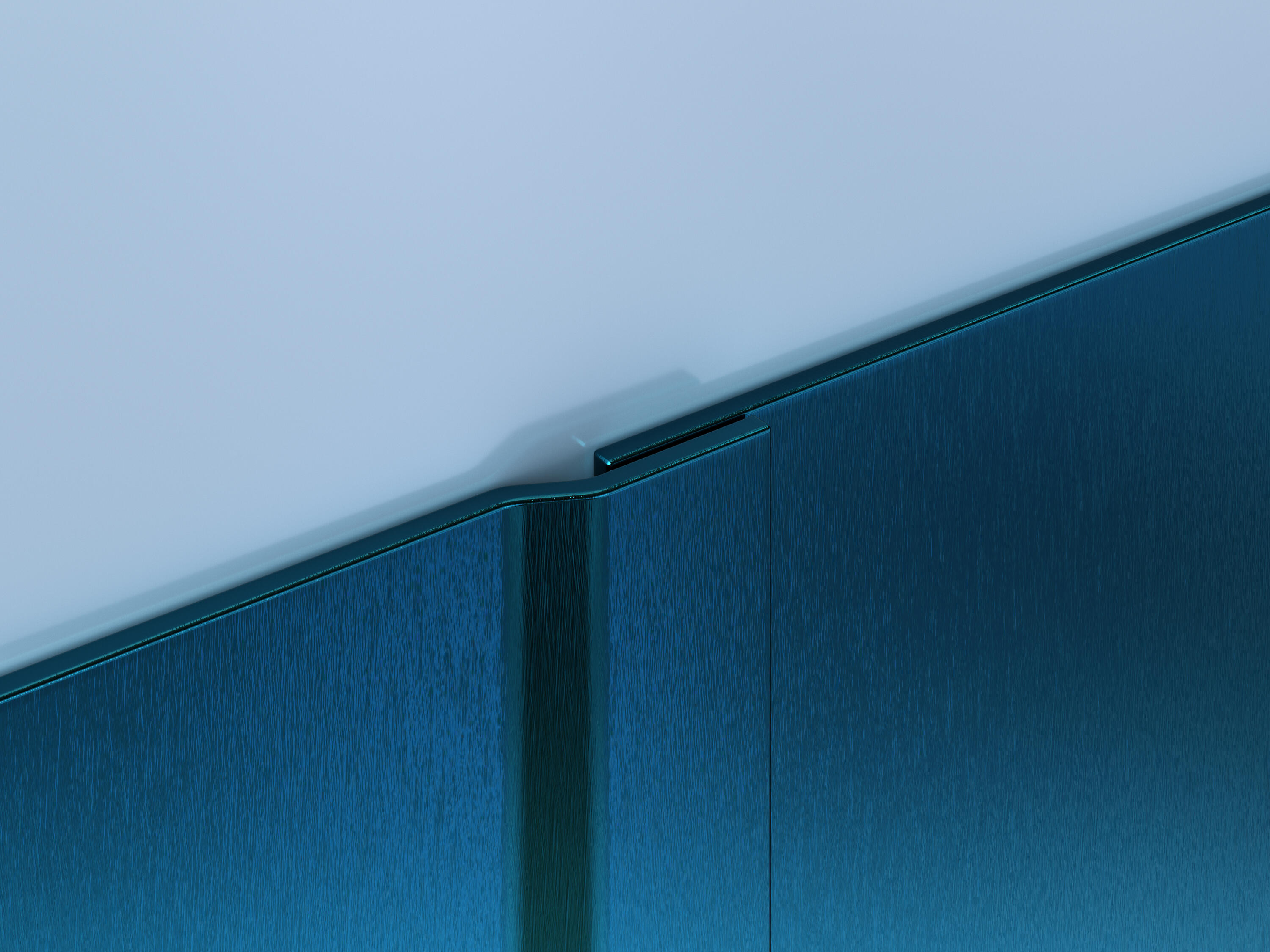 Colored Stainless Steel Wall Protection