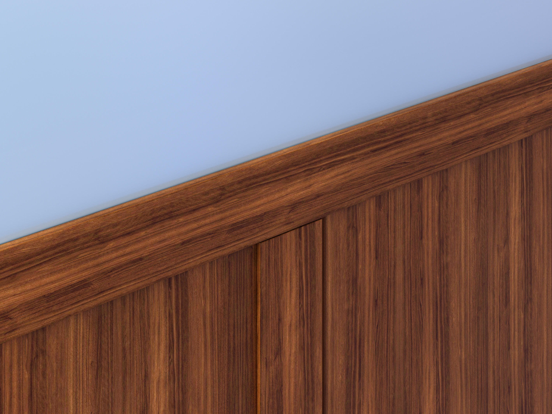Wood Grain Wall Protection