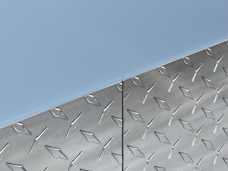 Diamond Plate Wall Protection